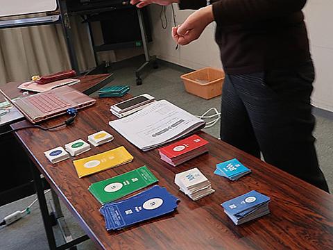 テーマ設定に関するプログラムはSDGsカード